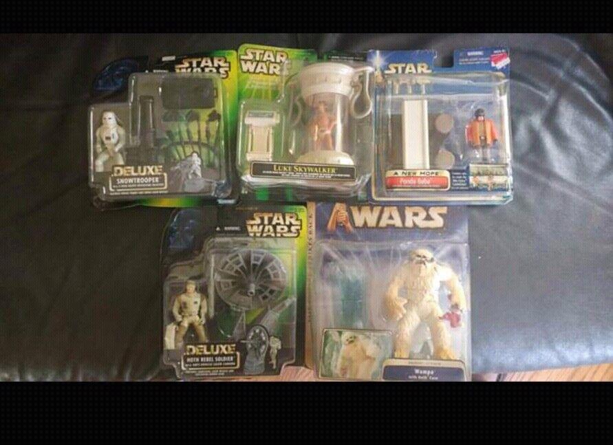 Star - wars - figuren viel   11.