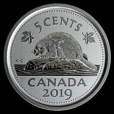 Beaver Specimen 2012-5-cents RCM Uncirculated