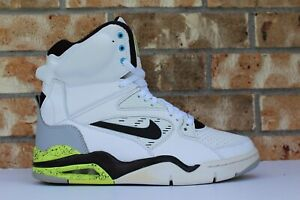 Details about Men's Nike Air Command Force Max Retro OG Billy Hoyle White Volt 684715 100