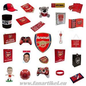 Arsenal-FC-Fanshop-Fanartikel-Ball-Schal-Fahne-Pin-Geburtstag-Schal-Wimpel