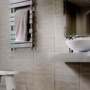 Image Is Loading Multi Tile Greystone 8mm Wet Wall Plastic Shower