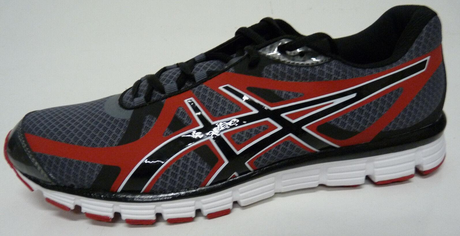 ASICS Men's GEL-Extreme33 Titanium   Black   Red Running shoes