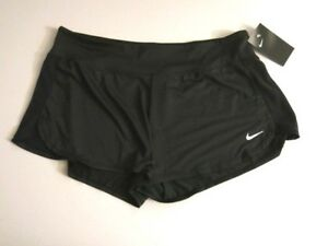 63039f65fb Nike Brand XL NESS8331 Women's Beach Swimsuit Cover-Up Shorts Black ...