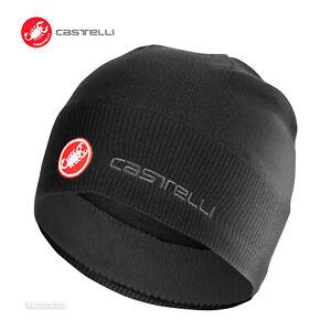 NEW-Castelli-GPM-Wool-Blend-Knit-Beanie-BLACK