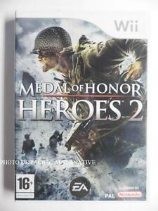 jeu-MEDAL-OF-HONOR-HEROES-2-pour-xbox-360-game-spiel-juego-gioco-francais-X360