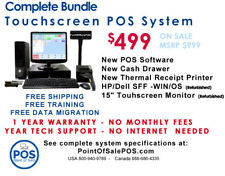 Restaurant Point Of Sale Pos System 15 Touchscreen Package
