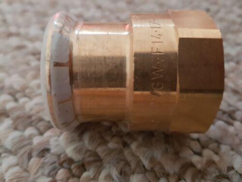 "Geberit Mapress Female iron straight connector 28mm //1/"""