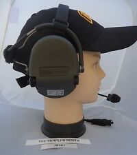MSA SORDIN 76321 HEADSET - Tested/Works - Excellent Condition - New Batteries