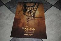 The Hobbit Gandalf The Grey Wizard Imax Movie Premiere Poster Elven Scipt