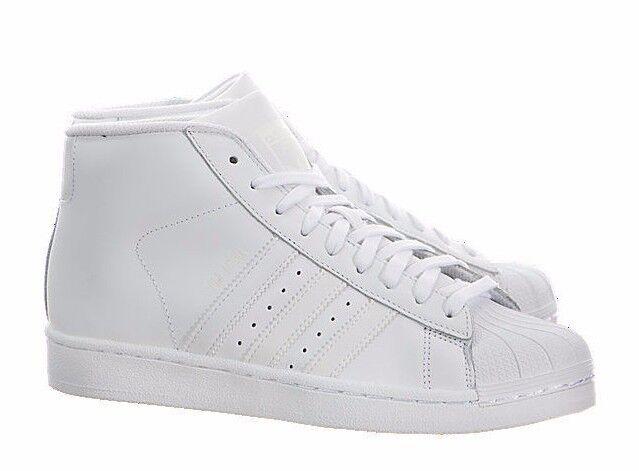 Adidas Pro Model J B27451 Mono White
