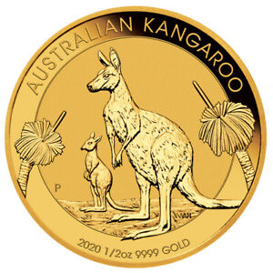 1-2-oz-Gold-Kaenguru-2020-50-Dollar-Australien-Goldmuenze-999-9