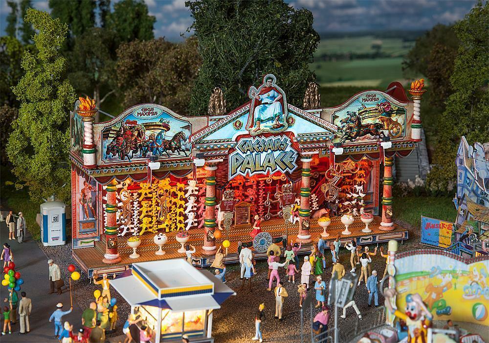 Faller 140119 ,Losbude Caesars Palacio,Feria Kit Construcción Miniaturas H0