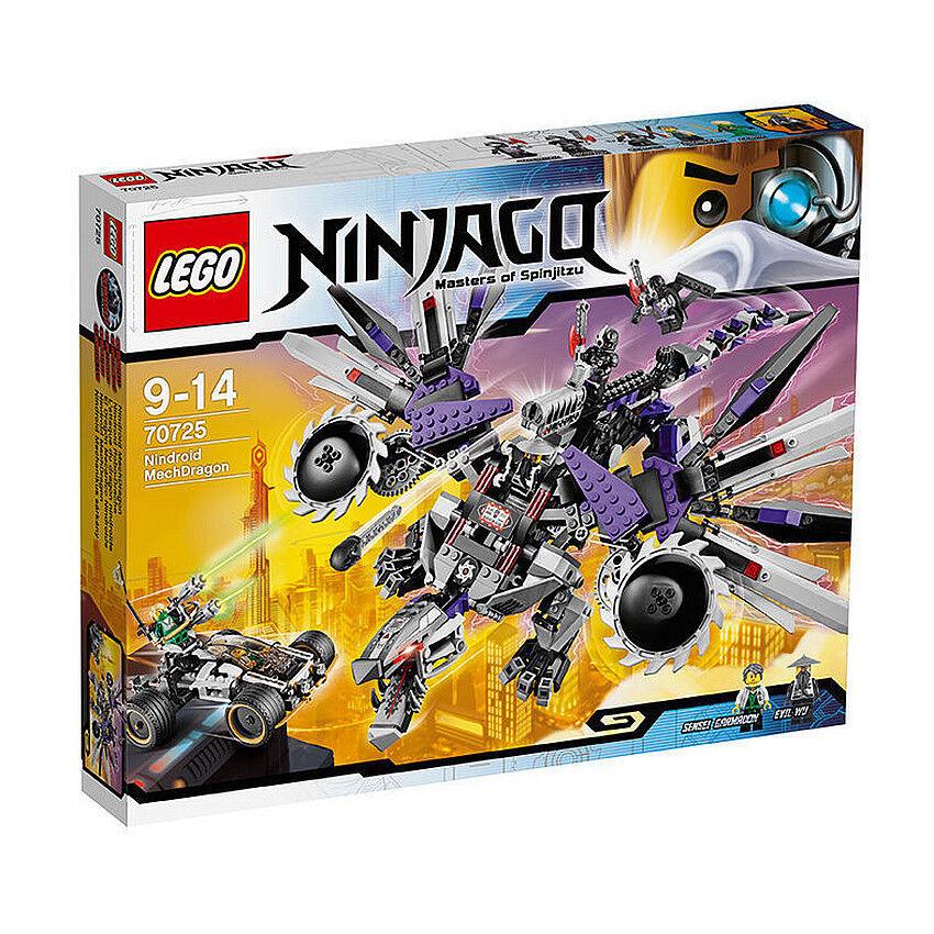 Lego Ninjago Set 70725 Nindroid Robo-Drache  NEU & OVP