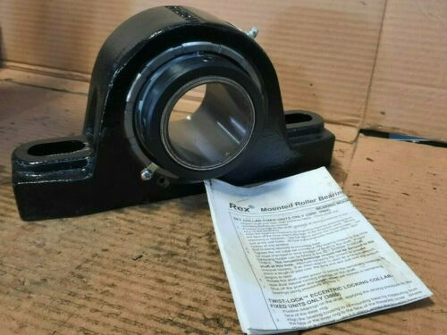 """2-3//16"""" BORE S45 Details about  /*NOS* REXNORD  #ZEP2203  SELF-ALIGNING ROLLER BEARING"""