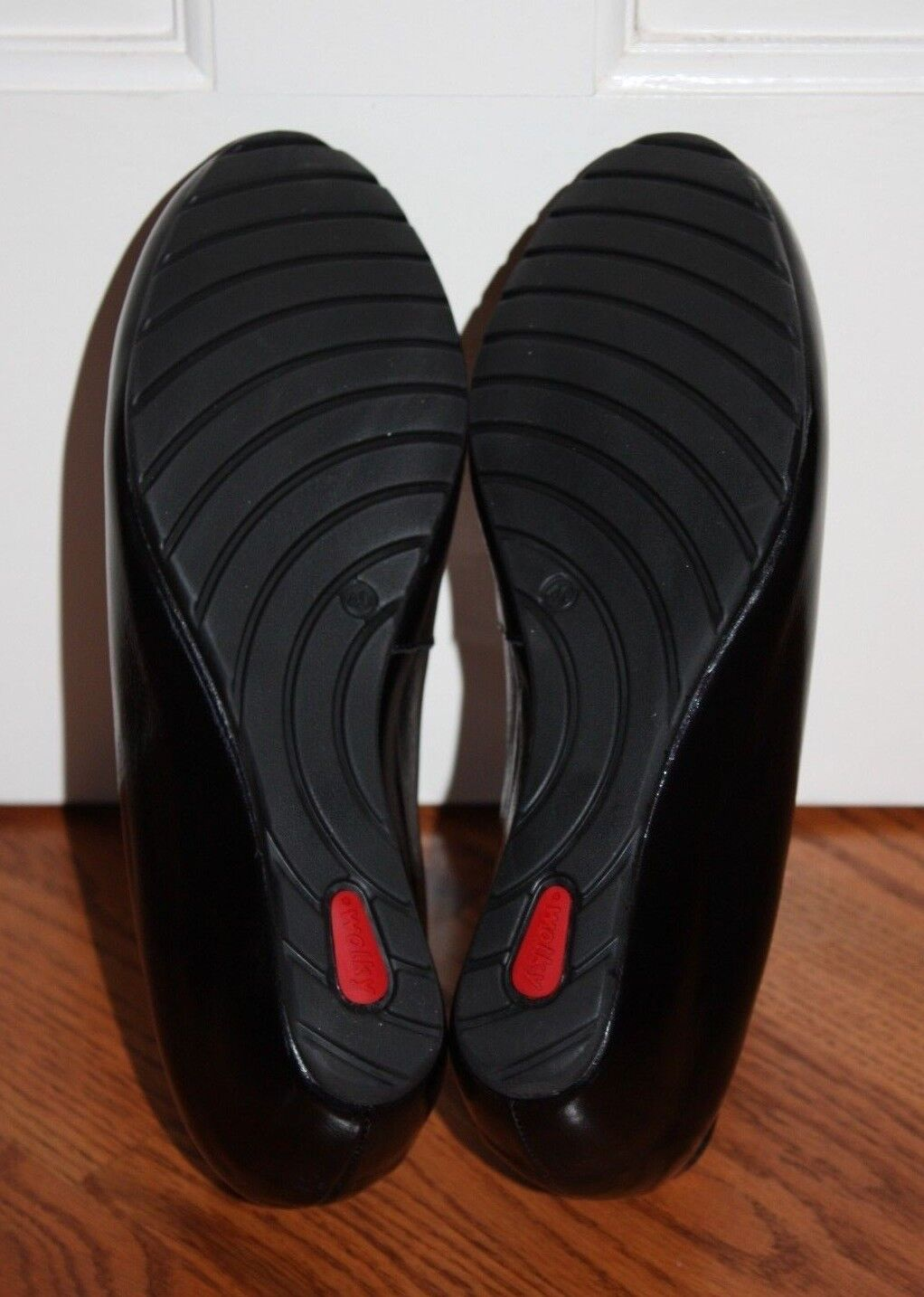 NEW Womens  299 Wolky Valentine Black Midland Patent Leather Leather Leather Wedges shoes Sz 40 c44c86