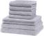 GREEN-MARK-Textilien-8er-Handtuch-Set-in-vielen-Farben-Groessen-100-Baumwolle Indexbild 9