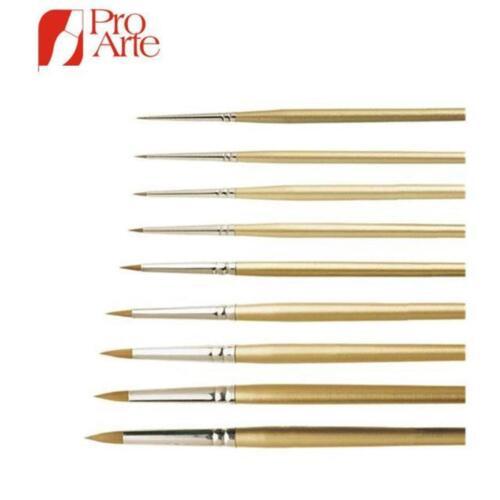 Pro Arte Series 107 observador Modelo Pintura Cepillo de tamaño 0