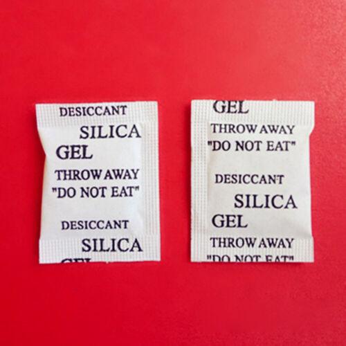25 50 100 Packs Non-Toxic Silica Gel Desiccant Moisture Absorber Dehumidifier