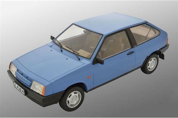 Premium Scale Models Lada 2108 Samara 1985 Valentine blu 1 18 DC18003B