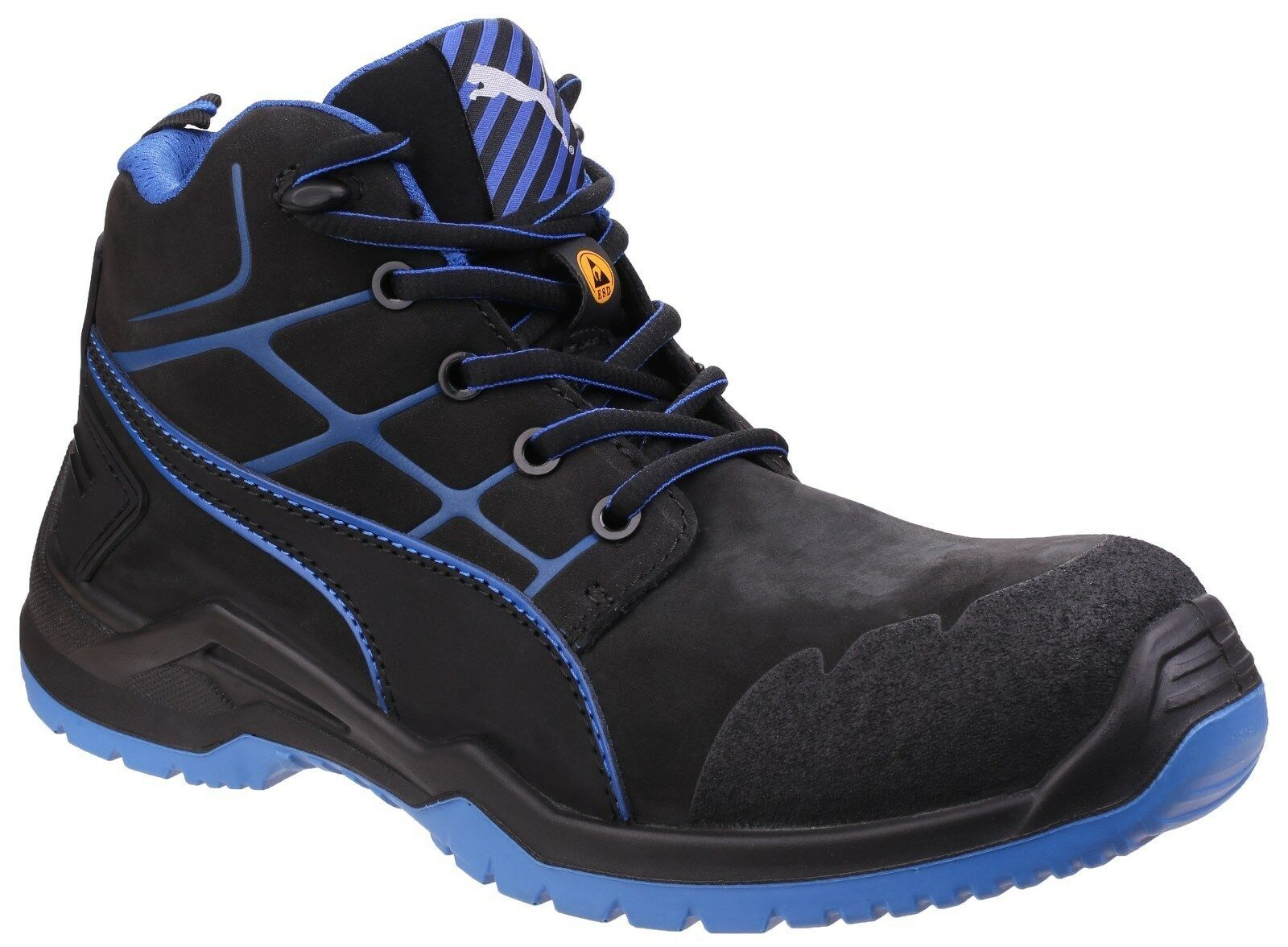 Puma Krypton Safety Safety Safety botas Industrial Fibreglass Toe Cap Hombre Work Zapatos Trainers f1f0dd
