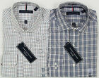 NWT Tommy Hilfiger Mens Spread Collar Non Iron 100% Cotton Dress Shirt Variety