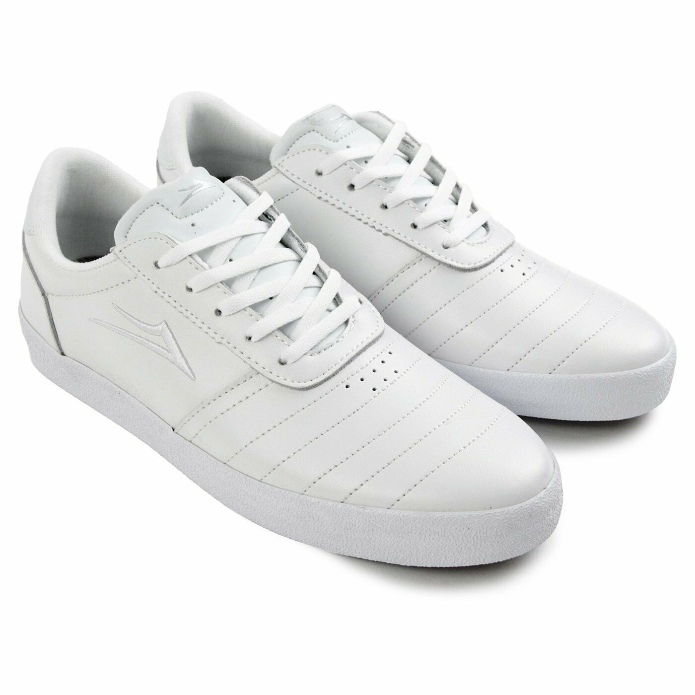 LAKAI ANCHOR SALFORD Men's Shoes - White Leather - Size 8 - NIB