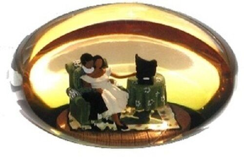 Love Song Paperweight New! Annie Lee