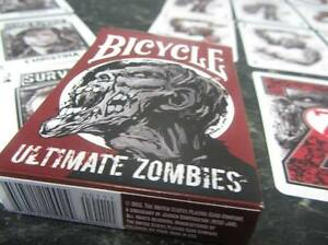Collection Ici Carte Da Gioco Bicycle Ultimate Zombies,poker Size