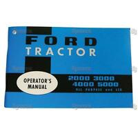 Ford 2000 3000 4000 5000 Tractor Operator's Owner's Instruction Manual 65-68