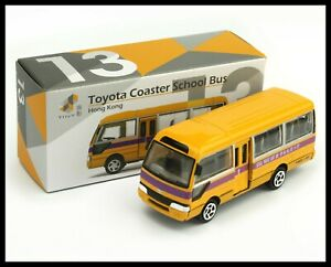 TINY HONG KONG CITY 14 Toyota Coaster Mobile Post Office VAN NEW DIECAST CAR
