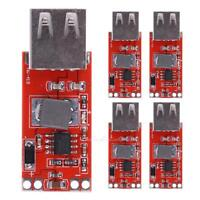 5 x DC-DC 12/24V to 5V 3A USB Car Charger Step-down Buck Power Module