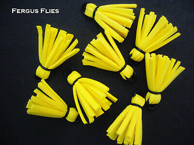 Worldwide. Bright Multicolor Hi Vis 8 Foam Strike Indicators for Fly Fishing