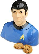 STAR TREK TOS First Officer MR SPOCK Bust COOKIE JAR Collectible Vulcan Nimoy