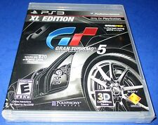 Gran Turismo 5 -- XL Edition Sony PlayStation 3 *Factory Sealed! *Free Shipping!