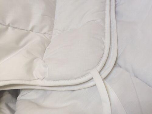 Laine Mérinos Couette Double Taille Poids Moyen 10.5 Tog en coton neuf