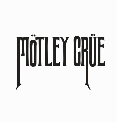 Motley Crue Music Band Vinyl Die Cut Car Decal Sticker-FREE SHIPPING