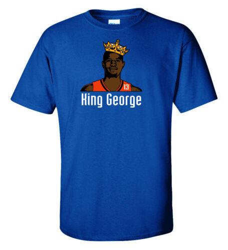 "Paul George Oklahoma City Thunder /""King George/"" jersey T-shirt Shirt"