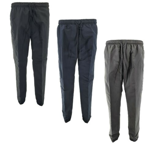 BNWT Men/'s Elasticated Work Lightweight Trousers Tracksuit Bottoms Joggers Pants