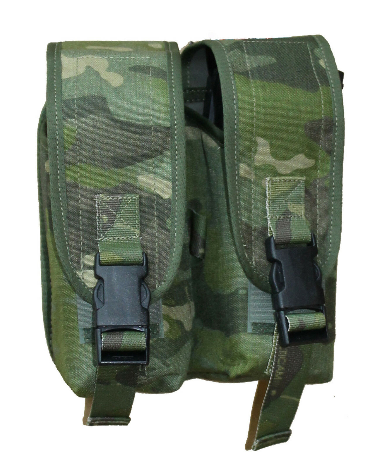 UKOM - MOLLE 5.56mm Double Ammo Pouch  - Colours include Crye Multicam   MTP DPM  online-shop