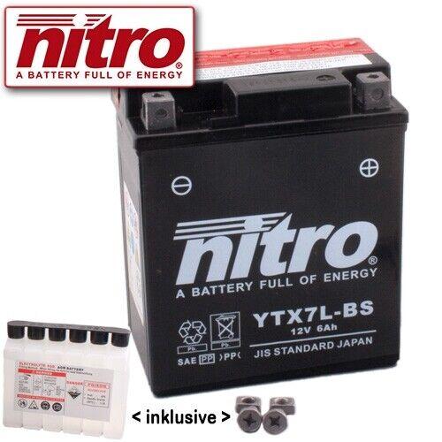 Batterie Honda VT125 C Shadow JC31 Bj 2004 Nitro YTX7L-BS