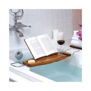 Umbra Aquala Bathtub Caddy Tray Bath Table Organizer