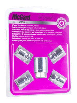 McGard 24212SU Felgenschlösser Radsicherungen loser Kegel M12 x 1,5 25,0 Ford V