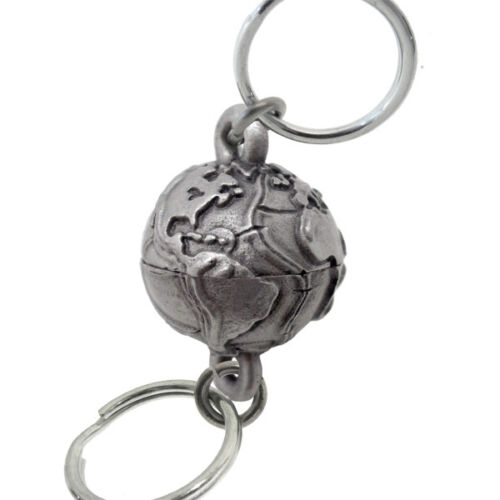 Planet Earth Geology 2-part Valet Keychain