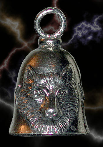 Wolf Guardian® Bell Motorcycle Harley Luck Gremlin Ride