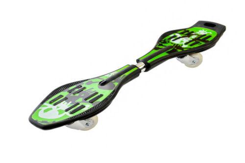 WAVE Ripstick pratica Surf Serpente Caster Board Street Skateboard Ruote LED