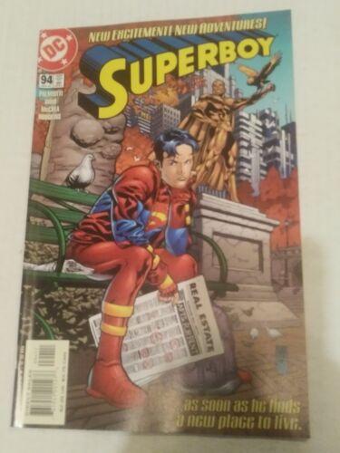Superboy #93 December 2001  DC Comics