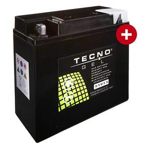 GEL-Batterie-51913-fuer-BMW-K-100-2-Baujahr-1987-1990-von-Tecno