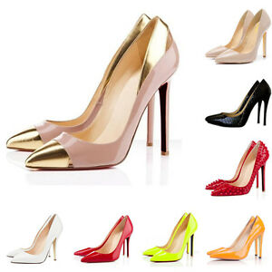 NEW-WOMENS-HIGH-HEELS-SHOES-POINTED-PATENT-PUMPS-COURT-AU-SIZE-3-5-8-5