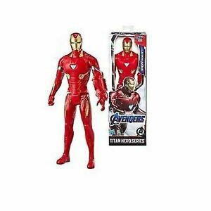 Marvel Avengers Titan Hero Series 12-inch Iron Man Action Figure NIB