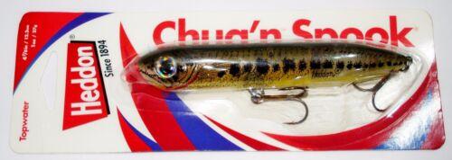 Heddon chug/'n épouvanteur 12.4cm 125mm bluefish topwater fishing lure sea bass
